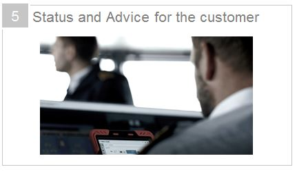 5_ Status and Advice for the customer