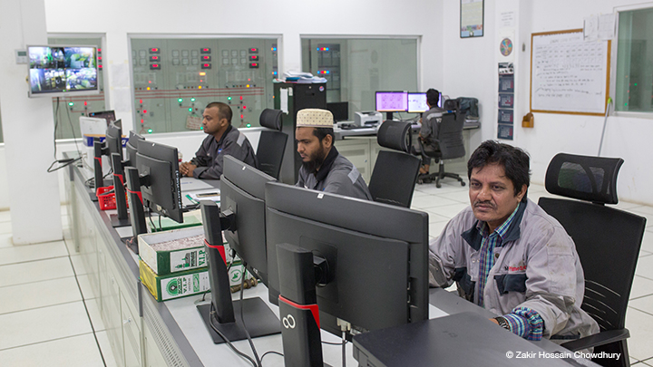 Control-Center-powerplant,-Kodda-Gazipur-Bangladesh