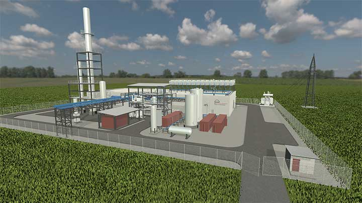 50 MW Power-to-X plant by MAN Energy Solutions