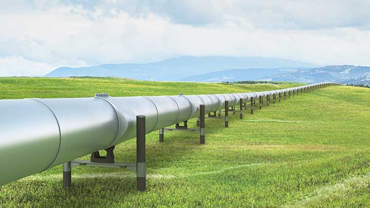 Green hydrogen can run on existing gas pipelines