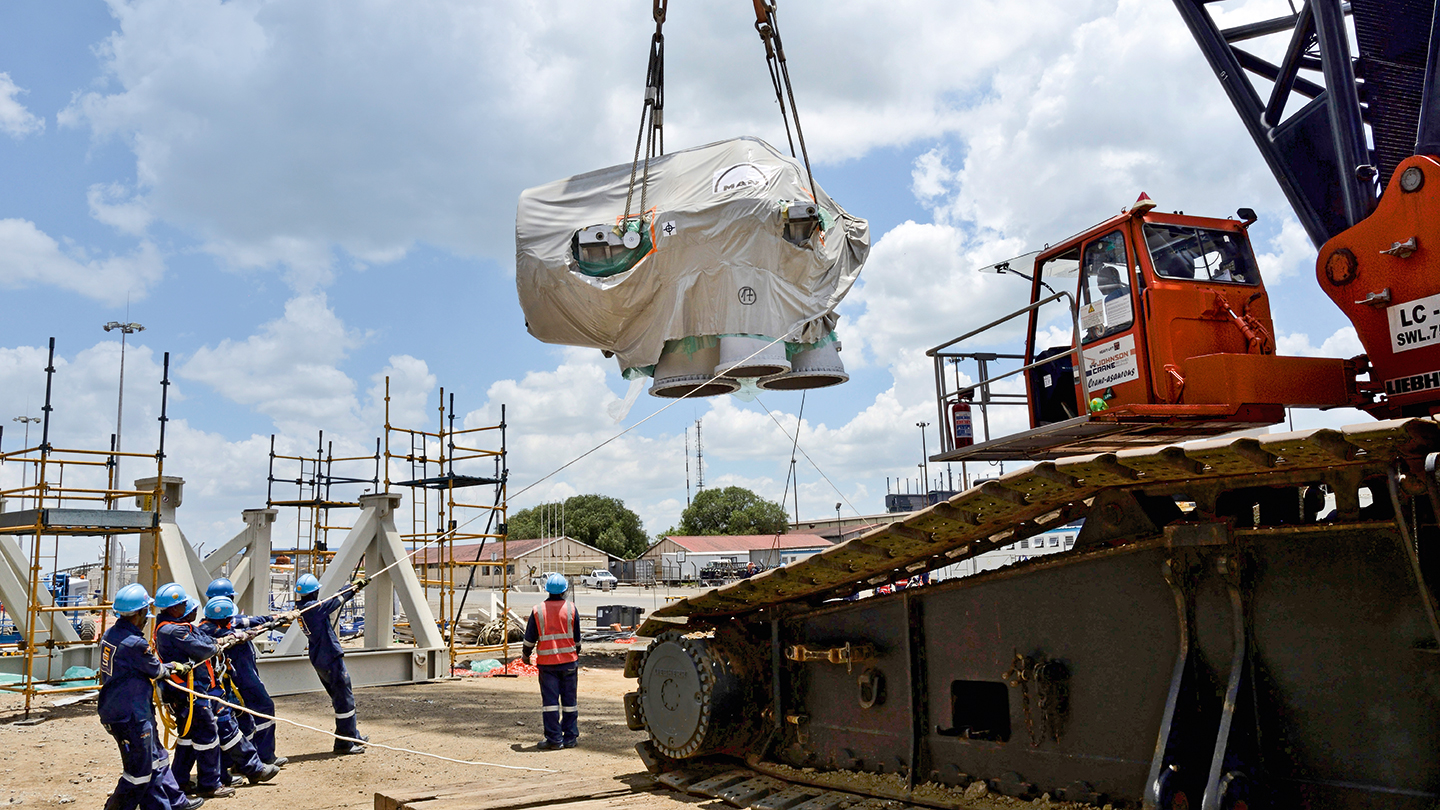 World's-biggest-axial-compressor-delivery-to-South-Africa