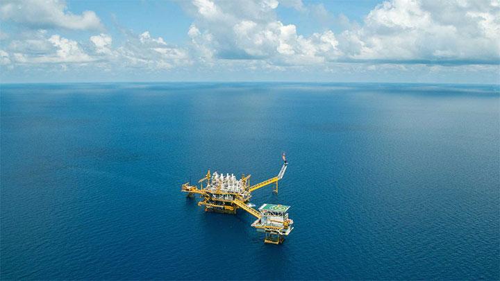 Oil plattform
